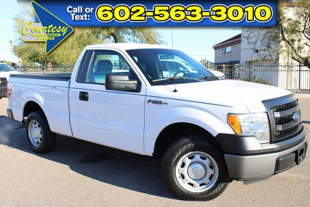 used 2014 Ford F-150 car