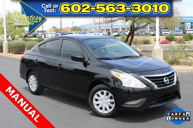 used 2018 Nissan Versa car, priced at $12,500