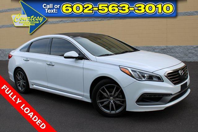 used 2015 Hyundai Sonata car, priced at $15,500
