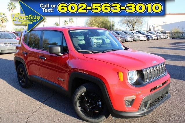 new 2021 Jeep Renegade car, priced at $24,090