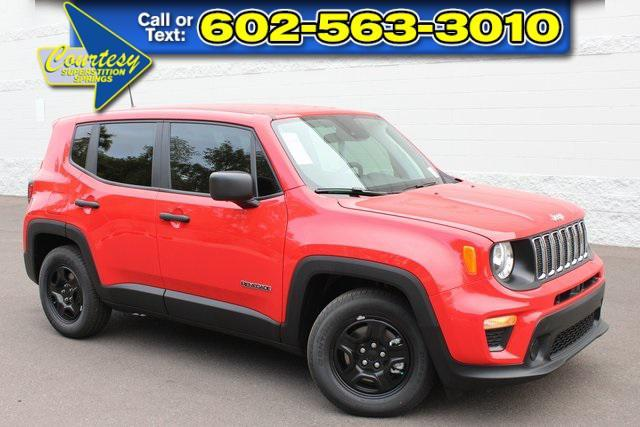 new 2021 Jeep Renegade car, priced at $21,958