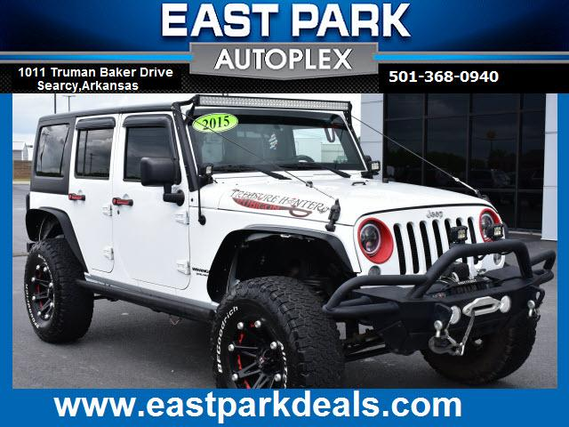 used 2015 Jeep Wrangler Unlimited car, priced at $37,988
