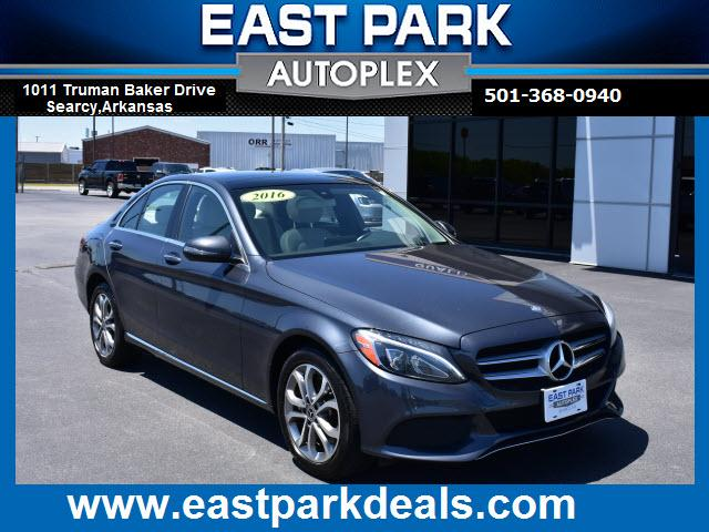 used 2016 Mercedes-Benz C-Class car, priced at $27,988