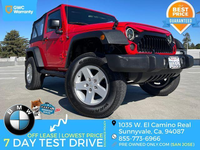 used 2016 Jeep Wrangler car, priced at $28,995