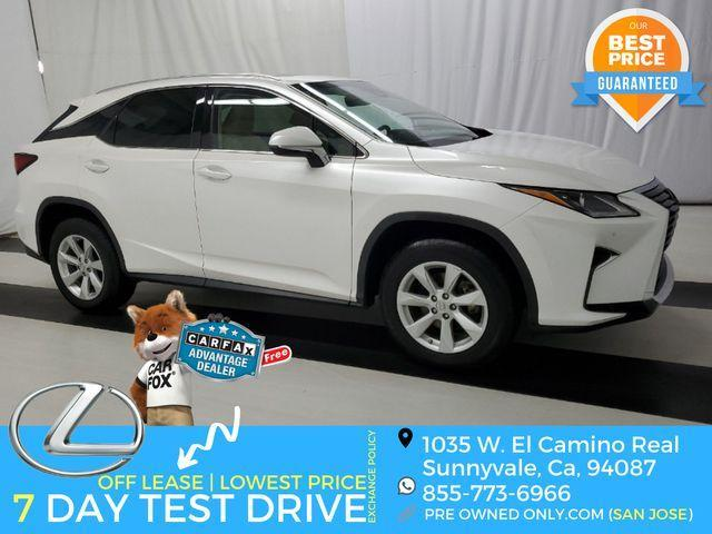 used 2017 Lexus RX 350 car, priced at $32,995