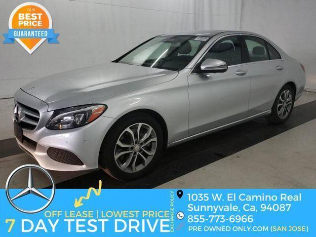 used 2017 Mercedes-Benz C-Class car, priced at $23,995