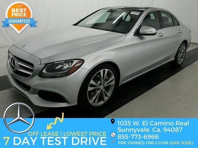used 2016 Mercedes-Benz C-Class car, priced at $22,995