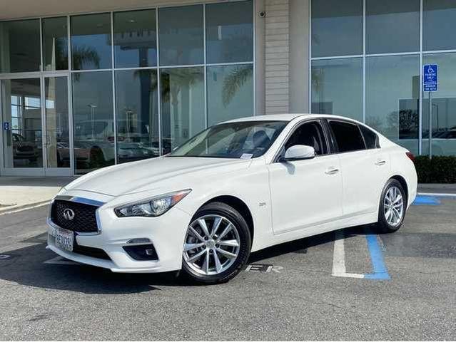 used 2018 INFINITI Q50 car, priced at $26,500