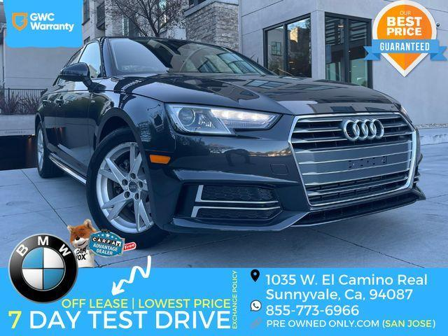 used 2018 Audi A4 car, priced at $24,995