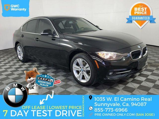 used 2017 BMW 330 car, priced at $21,995
