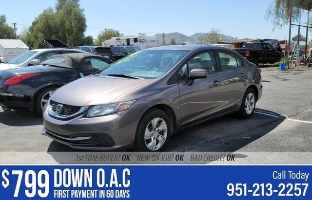 used 2015 Honda Civic car, priced at $10,995