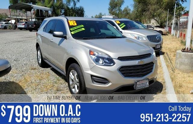 used 2016 Chevrolet Equinox car, priced at $16,995