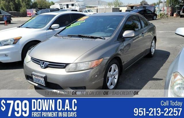 used 2007 Honda Civic car, priced at $4,995