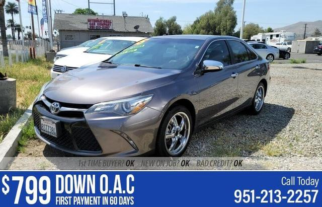 used 2015 Toyota Camry car, priced at $13,995
