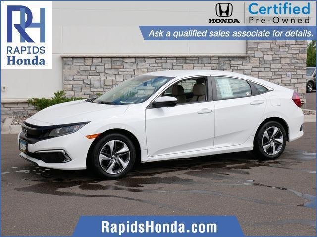used 2019 Honda Civic car, priced at $19,518