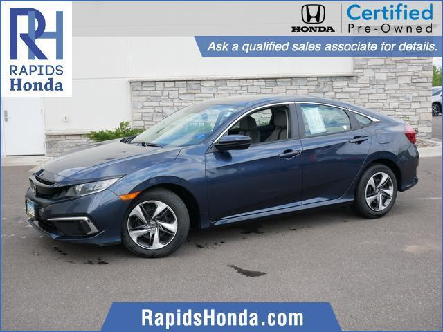 used 2019 Honda Civic car, priced at $18,052