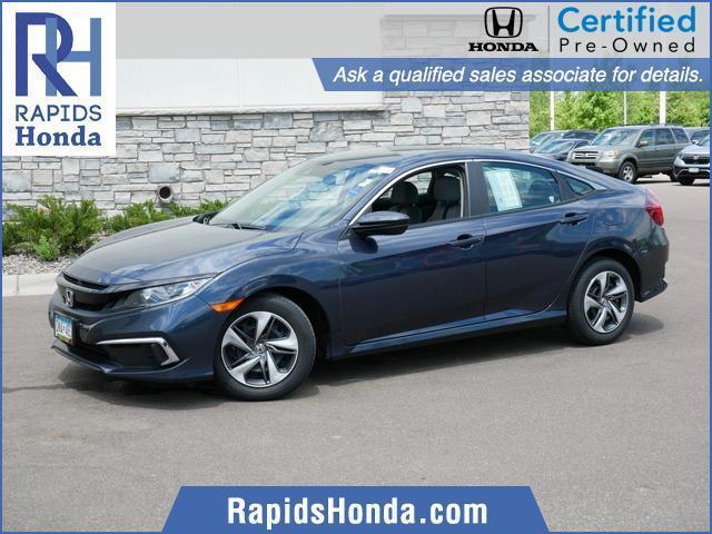 used 2019 Honda Civic car, priced at $18,817