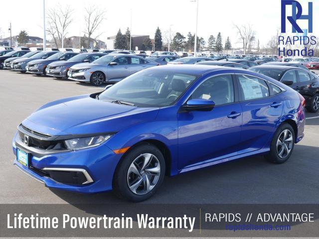 new 2021 Honda Civic car, priced at $21,499