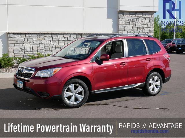 used 2015 Subaru Forester car, priced at $12,549