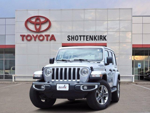 used 2020 Jeep Wrangler Unlimited car, priced at $38,883