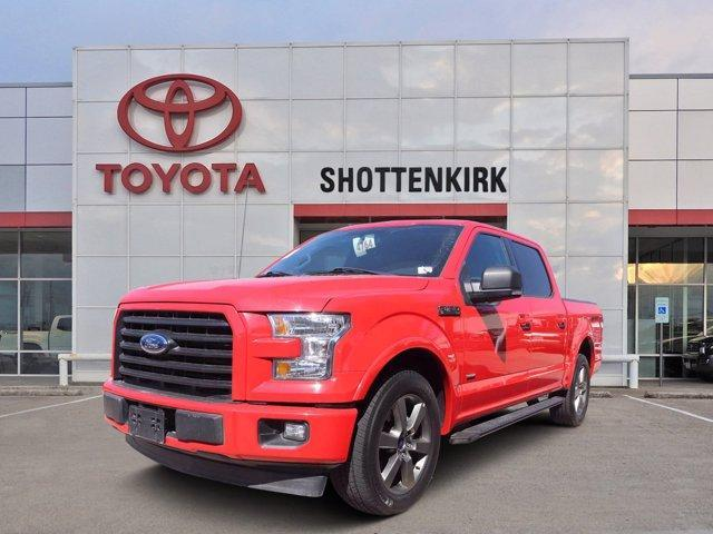 used 2017 Ford F-150 car, priced at $31,834