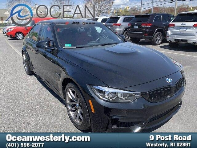 used 2018 BMW M3 car, priced at $62,500