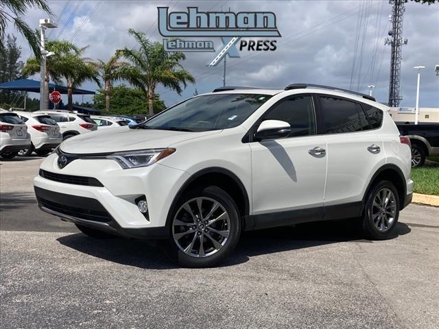 used 2018 Toyota RAV4 car, priced at $27,000