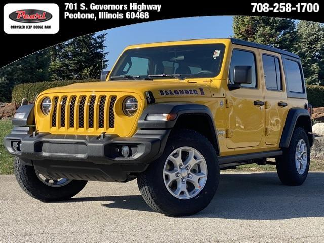 new 2021 Jeep Wrangler Unlimited car, priced at $45,740