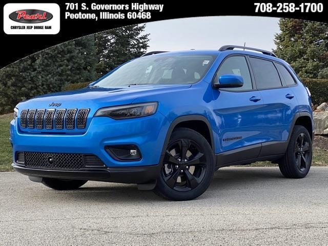 new 2021 Jeep Cherokee car, priced at $30,957