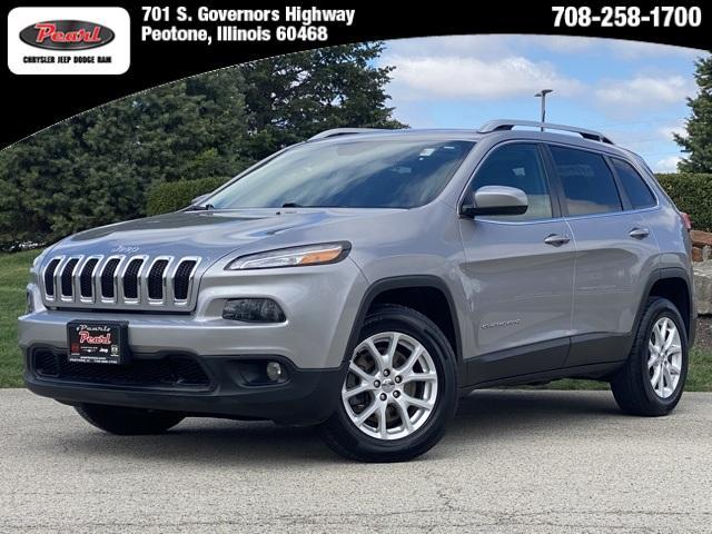 used 2018 Jeep Cherokee car, priced at $17,999