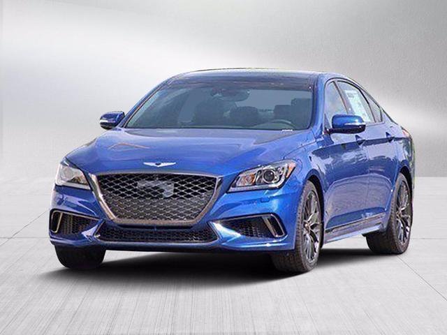 new 2020 Genesis G80 car, priced at $47,403