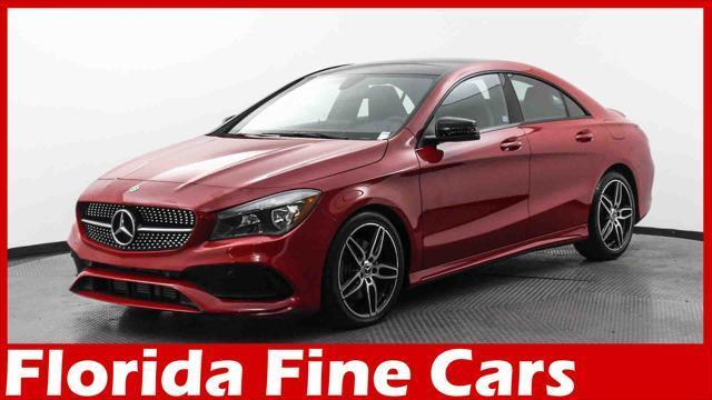 used 2018 Mercedes-Benz CLA 250 car, priced at $28,998