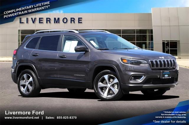 used 2020 Jeep Cherokee car, priced at $29,995