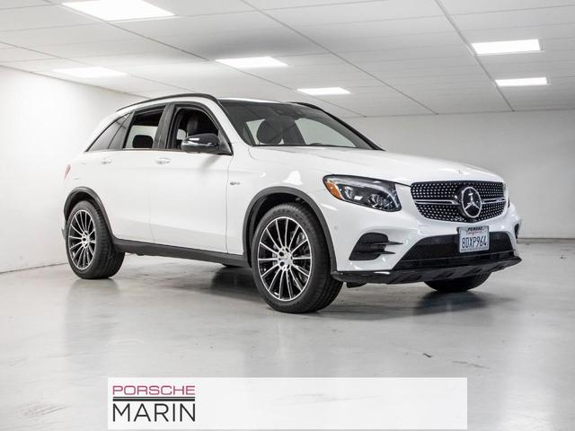 used 2018 Mercedes-Benz AMG GLC 43 car, priced at $43,493