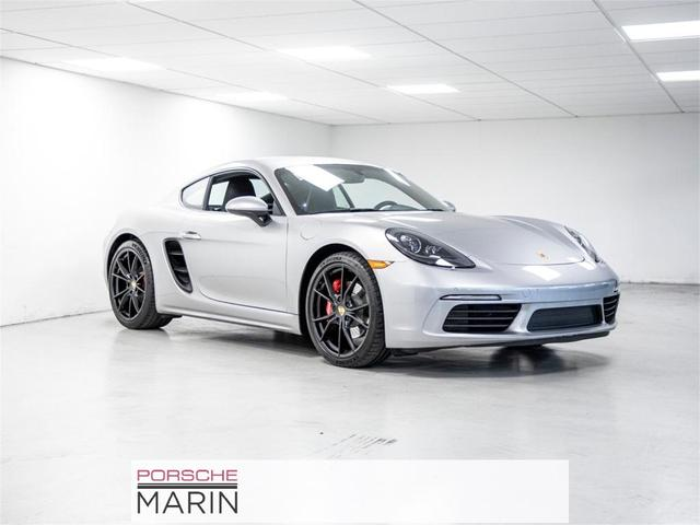 used 2018 Porsche 718 Cayman car, priced at $78,992