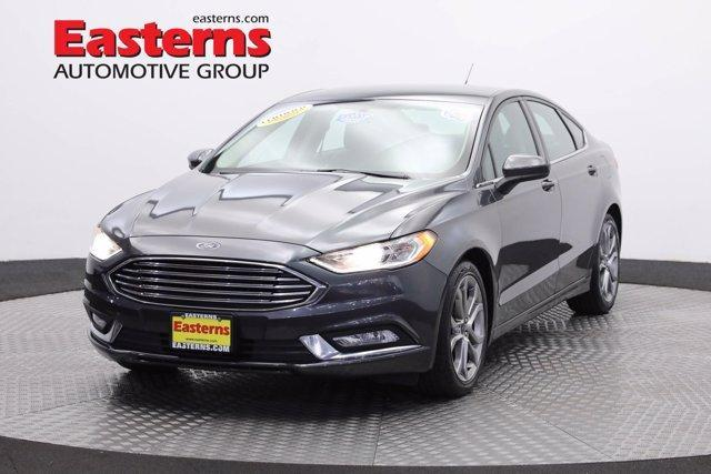 used 2017 Ford Fusion car, priced at $17,450