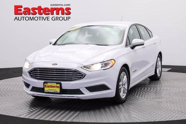 used 2018 Ford Fusion Hybrid car, priced at $20,950