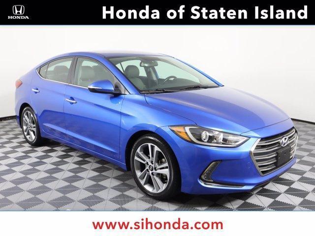 used 2017 Hyundai Elantra car, priced at $15,848