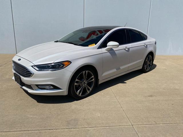 used 2017 Ford Fusion car, priced at $19,991