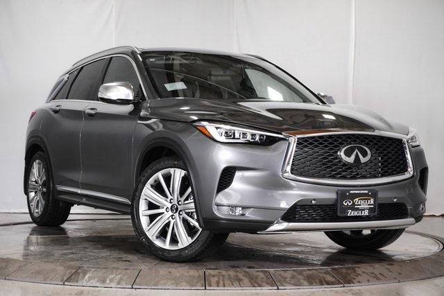 new 2021 INFINITI QX50 car, priced at $55,420
