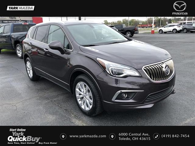 used 2018 Buick Envision car, priced at $22,281