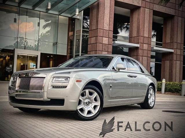 used 2012 Rolls-Royce Ghost car, priced at $104,995
