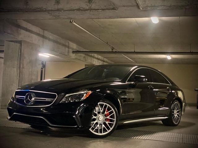 used 2015 Mercedes-Benz CLS-Class car, priced at $47,995