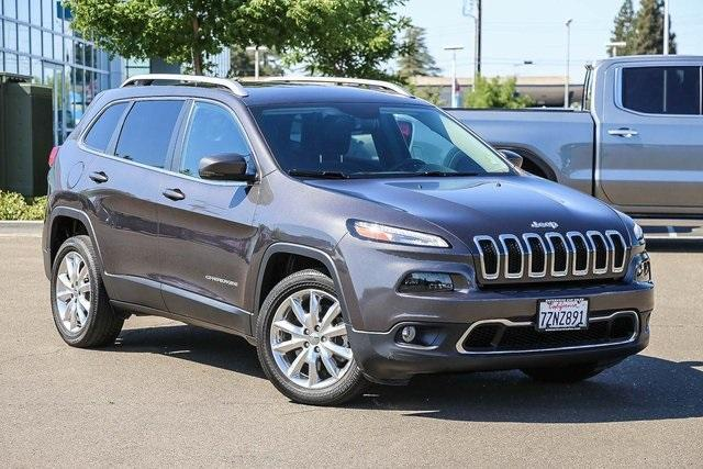 used 2016 Jeep Cherokee car, priced at $18,994