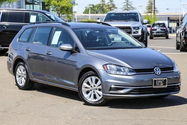 used 2019 Volkswagen Golf SportWagen car, priced at $19,875