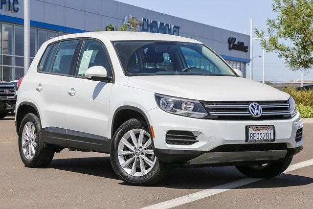 used 2017 Volkswagen Tiguan Limited car, priced at $17,399
