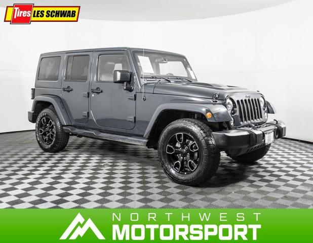 used 2018 Jeep Wrangler JK Unlimited car, priced at $36,999