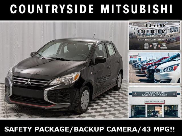 new 2021 Mitsubishi Mirage car, priced at $15,860
