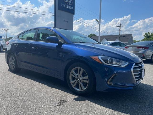 used 2018 Hyundai Elantra car, priced at $17,499