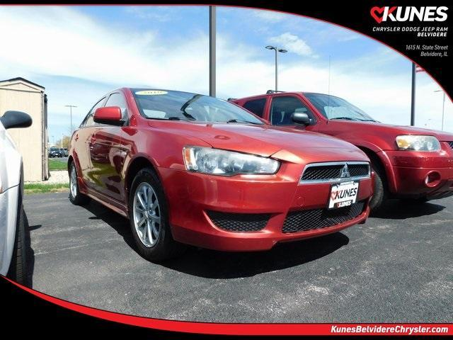 used 2010 Mitsubishi Lancer car, priced at $7,298